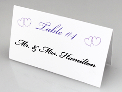 Wedding Favors On A Budget Create Beautiful Personalized Wedding - Wedding table tents