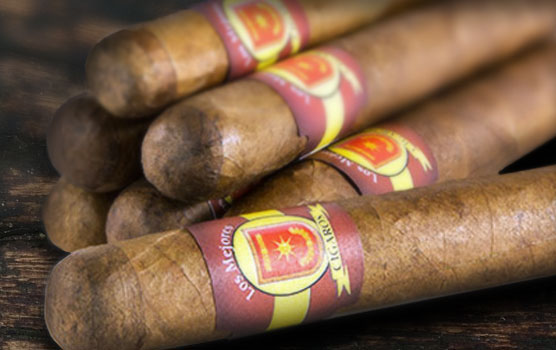 Cigar labels in use