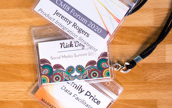 Event labels in use